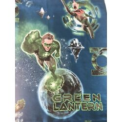 Kyпить Green Lantern DC Comics Twin Size Flat Bed Sheet by Franco MFG Fabric Crafts  на еВаy.соm