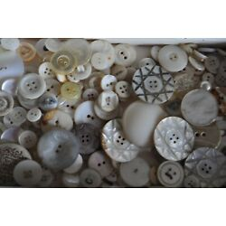 Kyпить Vintage Buttons White Assortment of 200 Pieces FRE SHIPPING на еВаy.соm