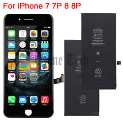 Kyпить For iPhone 7 8 Plus LCD Touch Screen Digitizer Replacement / Battery / Tools на еВаy.соm