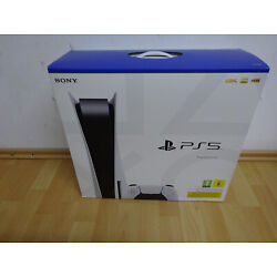 Sony Playstation 5 PS5 Disc Edition Laufwerk 825GB 8K 4K 120fps sofort lieferbar