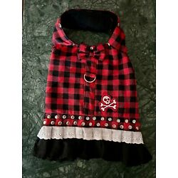 Adorable Adorable Sweet Yet Tough Dog Dress size Small, Devil & Angel