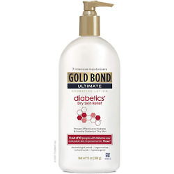 Gold Bond Ultimate Hydrating Lotion Diabetics' Dry Skin Relief, 13 oz., &