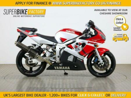 2001 YAMAHA R6 - BUY ONLINE 24 HOURS A DAY