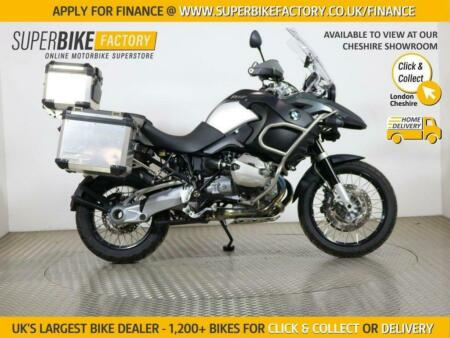 2011 11 BMW R1200GS ADVENTURE TU - BUY ONLINE 24 HOURS A DAY
