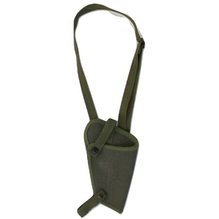 img-WWII Army U.S. M3 Colt M1911 Shoulder Canvas Holster - OD Green