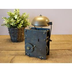 Kyпить Antique Early All Brass Grandfather Clock Works with Heavy Bronze Bell на еВаy.соm