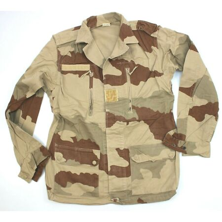 img-GENUINE FRENCH ARMY COMBAT JACKET / SHIRT in DESERT CAMO 96L