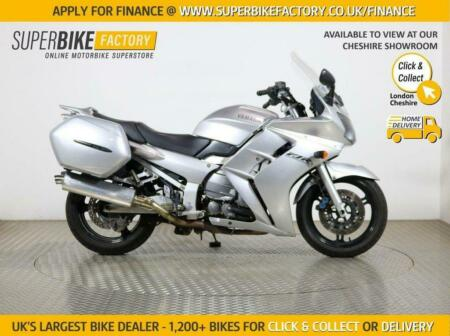2002 02 YAMAHA FJR1300 - BUY ONLINE 24 HOURS A DAY