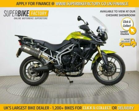 2011 60 TRIUMPH TIGER 800 - BUY ONLINE 24 HOURS A DAY
