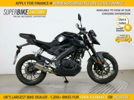 2019 19 YAMAHA MT-125 ABS - BUY ONLINE 24 HOURS A DAY