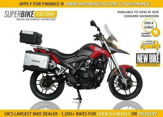 2020 SINNIS TERRAIN 125CC NEW MOTORBIKE *FINANCE AVAILABLE *DIRECT DELIVERY