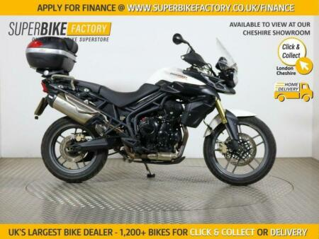 2012 61 TRIUMPH TIGER 800 ABS - BUY ONLINE 24 HOURS A DAY