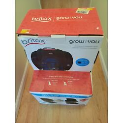 Kyпить NIB - Britax Grow With You Harness-2-Booster Car Seat, Cool Flow Black and Teal на еВаy.соm