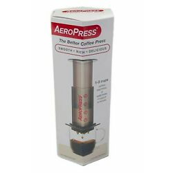 Aerobie AeroPress 1-3 Cup Coffee and Espresso Maker with 350 Filters in a Holder