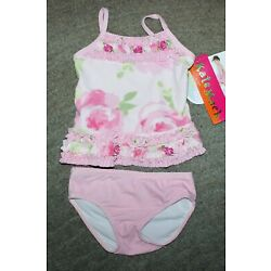 Kyпить Kate Mack Baby Girls Two Piece Pink Swimsuit - Size 18 Months - NWT на еВаy.соm