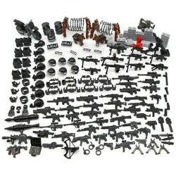 Lego Guns + SWAT And Military Accessories Weapons Lot! ????160 Pieces RARE!