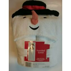 Kyпить NEW with Tags - Kids' Hooded Towel - White Snowman- 24 inches x 52 inches на еВаy.соm