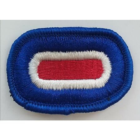 img-US ARMY PATCH 187th Infantry Regiment Headquarters Airborne Oval Flash Badge USA