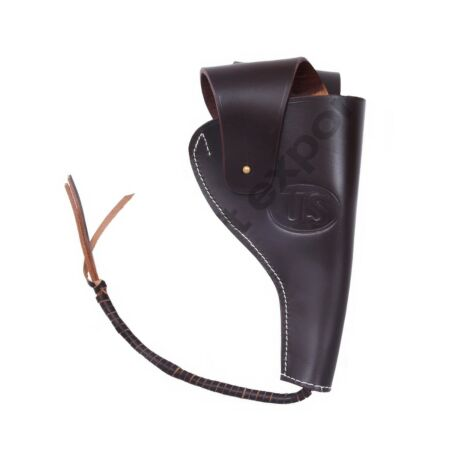 img-WWII US ACP Colt .45 M1942 Leather Holster-Dark Brown