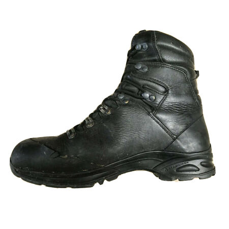 img-Haix Combat Gore-Tex Black Leather Boots SF German Army Issue *Grade 2*