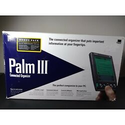 3Com Palm III 3 Connected Organizer Used With Box