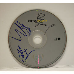 Autographed Hand Signed GUSTER CD - '' Goldfly ''