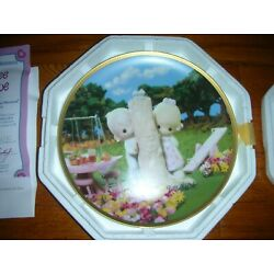 Precious Moment Collection Plate- '' Thee I LOVE '' FROM 1995