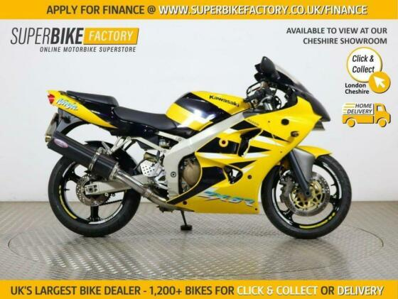 2001 Y KAWASAKI ZX-6R J2 - BUY ONLINE 24 HOURS A DAY