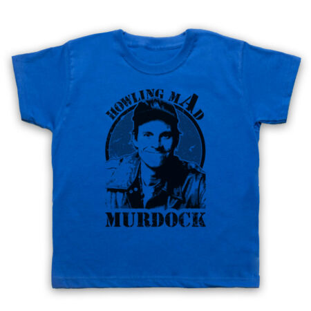 img-HOWLING MAD MURDOCK THE A TEAM ACTION TV UNOFFICIAL KIDS CHILDS T-SHIRT