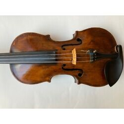 An antique violin labelled Giovanni Grancino, Old Antique, grafted, full size
