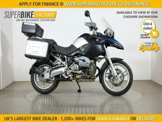 2006 06 BMW R1200GS BUY ONLINE 24 HOURS A DAY