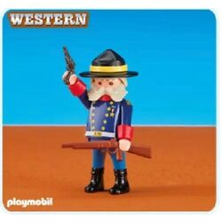 NEW Playmobil 6273 Western Cowboy Yankee Union General - FACTORY SEALED
