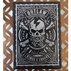 Outlaw Playing Cards New Sealed Kings & Crooks Collectable USPCC Limited Ed Deck