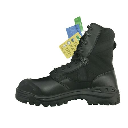 img-NEW Genuine British Army Issue Magnum Black STEEL TOE CAP Boots Hot Weather