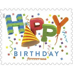 5635 Happy Birthday US Single Stamp Mint/nh FREE SHIPPING