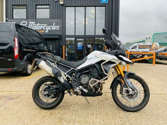 2020 70 TRIUMPH TIGER 900 RALLY, EXCELLENT CONDITION, £10490 OR FLEXIBLE FINANCE