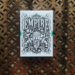 Empire Bloodlines Green Edition Playing Cards New Sealed Kings Crooks USPCC Deck