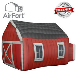 The Original AirFort Build An AirFort in 30 Seconds Farmers Barn Fort (USED)