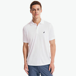 Nautica Mens Navtech Classic Fit Performance Polo
