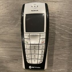 Nokia 6200 Black As Is Untested Read