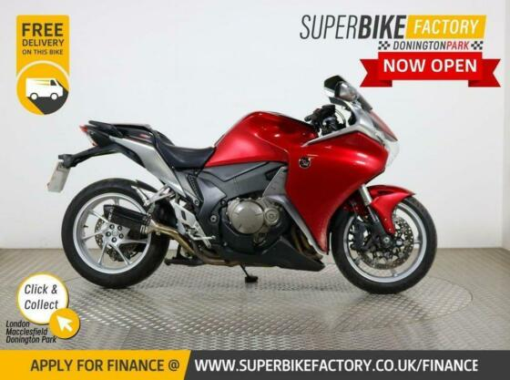 2010 10 HONDA VFR1200F A - BUY ONLINE 24 HOURS A DAY
