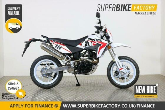 2020 SINNIS APACHE SM 125CC NEW MOTORBIKE *FINANCE AVAILABLE *DIRECT DELIVERY