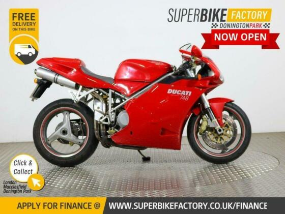2002 52 DUCATI 748 BUY ONLINE 24 HOURS A DAY