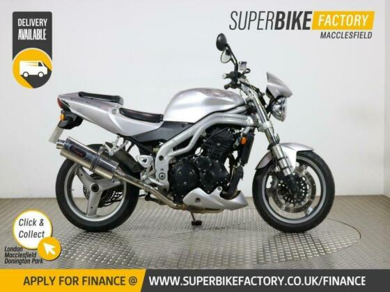 2004 53 TRIUMPH SPEED TRIPLE 955I - BUY ONLINE 24 HOURS A DAY