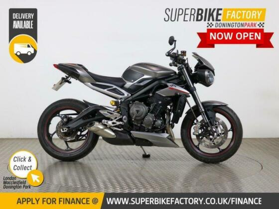 2017 66 TRIUMPH STREET TRIPLE 765 RS - BUY ONLINE 24 HOURS A DAY