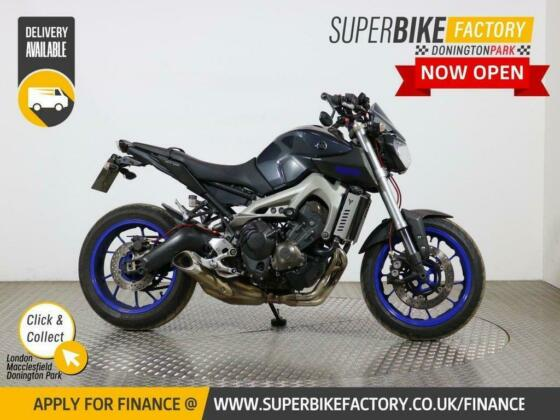 2013 63 YAMAHA MT-09 - BUY ONLINE 24 HOURS A DAY