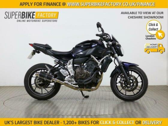2015 64 YAMAHA MT-07 BUY ONLINE 24 HOURS A DAY