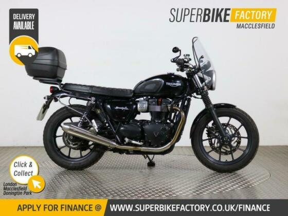 2016 66 TRIUMPH STREET TWIN - BUY ONLINE 24 HOURS A DAY