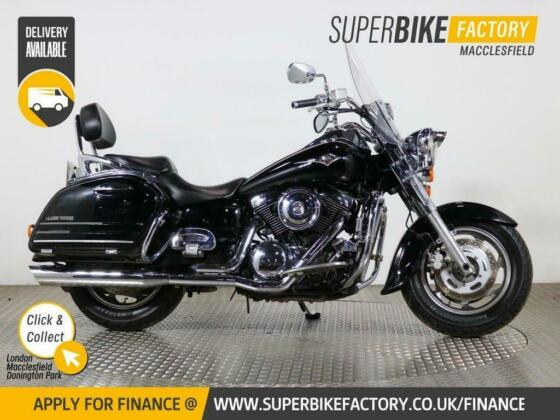 2006 56 KAWASAKI VN1600 D6F CLASSIC TOUR - BUY ONLINE 24 HOURS A DAY
