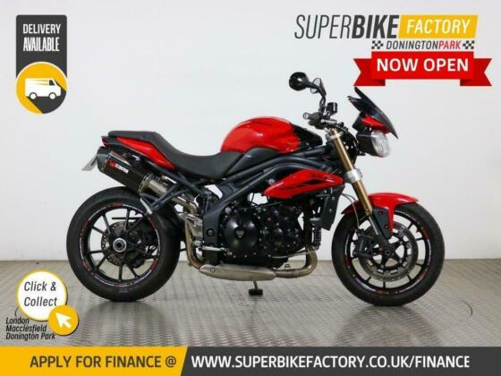 2012 12 TRIUMPH SPEED TRIPLE 1050 R ABS - BUY ONLINE 24 HOURS A DAY